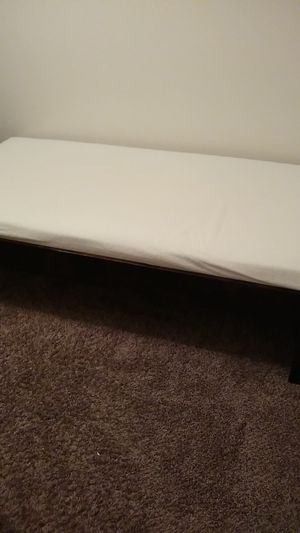 Bed and bed frame for Sale in Lafayette, IN
