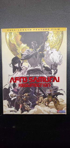 Afro Samurai Resurrection Special Edition DVD for Sale in Lathrop, CA
