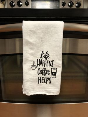 Handmade Hand Towel Coffee Farmhouse for Sale in Martinsburg, WV