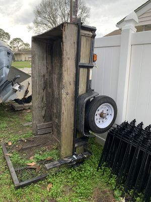 4x6 trailer with title for Sale in Metairie, LA
