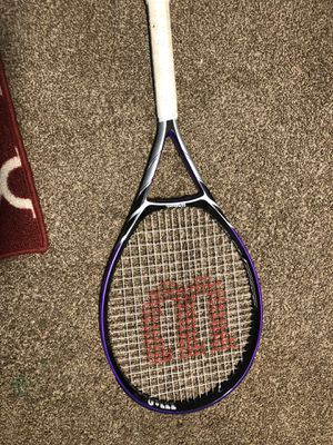 Wilson Violet force tennis racket for Sale in Livingston, CA