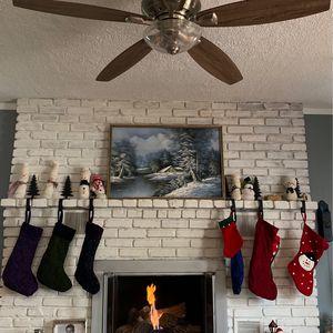 Beautiful Winter Scene Framed Print 37.5x 25.5 for Sale in Evesham Township, NJ
