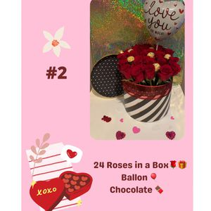 red roses & chocolates ❤️ for Sale in Spring, TX
