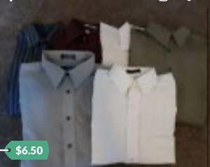 Men's Long Sleeve Dress Shirts for Sale in Visalia, CA
