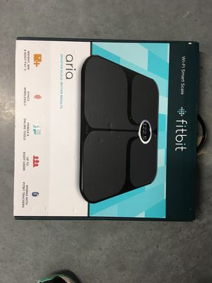 Fitbit Scale (BRAND NEW) for Sale in Raleigh, NC