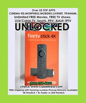New Amazon fire TV stick 4k unlocked for Sale in New York, NY