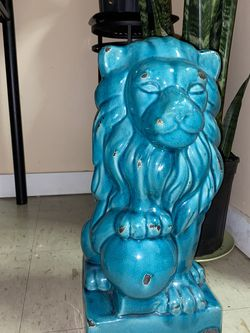 Blue Lion Statue for Sale in New York,  NY