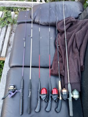 Vintage Fishing Poles & Reels for Sale in Joint Base Lewis-McChord, WA
