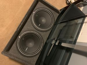 Subwoofer ((BOX)) for Sale in Charlotte, NC