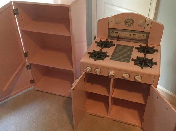 Pottery Barn Wooden Kitchen Play Set