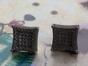 White gold and diamond earrings /screw backs for Sale in Columbus, OH