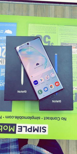 Samsung Note 10 UNLOCKED for Sale in Arlington, TX