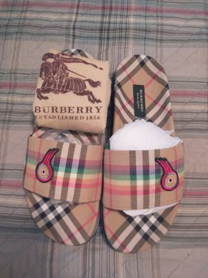 Burberry slides for Sale in Rockwall, TX