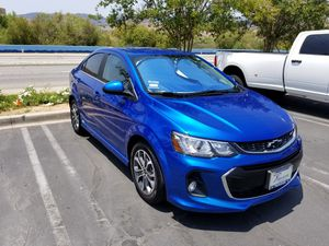 2018 Chevy Sonic LT automatic RS package for Sale in Murrieta, CA