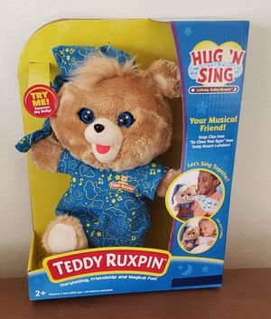Teddy Ruxpin Hug N Sing for Sale in Fremont, CA