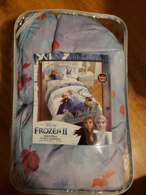 Frozen twin COMFORTER for Sale in Hermon, ME