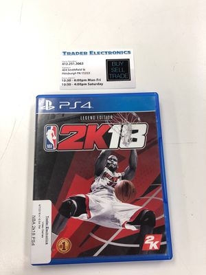 NBA 2k18 ps4 for Sale in Pittsburgh, PA
