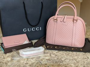 Gucci micro guccisima satchel and wallet for Sale in Las Vegas, NV