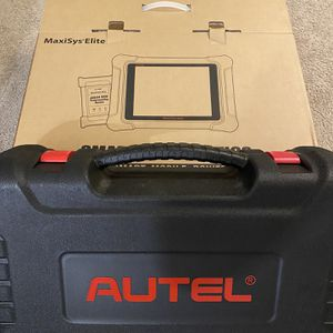 2020 Autel MaxiSys Elite Automotive Diagnostic Tool with WIFI BT OBD2 Scanner for Sale in Buffalo, NY
