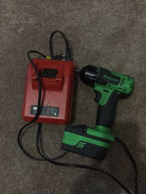 Snap on 3/8 electric gun in good condition for Sale in Beltsville, MD