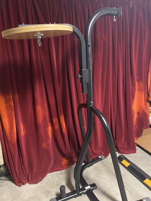 Everlast Stand with Custom Speed Bag Platform, Title Swivel And Dip Bar Capability (Dip Bar, Heavy Bag, Speedbag, NOT Included) for Sale in Los Angeles, CA