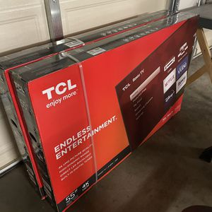 TCL 55in 4K Roku Smart TV for Sale in Moreno Valley, CA