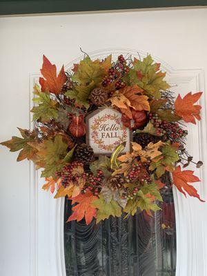 Fall Wreath Handmade for Sale in Huntington Beach, CA