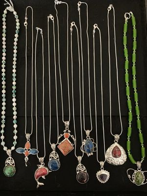 Pendants with necklace. for Sale in Winfield, IL