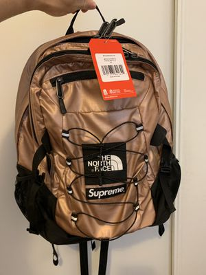 Supreme The Northface Backpack Pink/Bronze for Sale in Montebello, CA