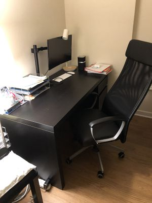 Full desk and arm chair for Sale in Arlington, VA