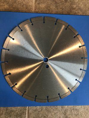 """14"""" segmented silver general purpose concrete masonry blade for Sale in Haymarket, VA"""