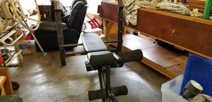 Weight bench and weights for Sale in Graham, WA