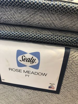 Sealy mattress, mattress pad, bed frame, and headboard for sale for Sale in Chico, CA