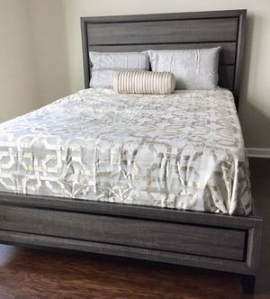 New Black & Gray Queen Bed for Sale in Silver Spring, MD