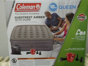 Coleman 18in Queen AirBed for Sale in Verona, PA