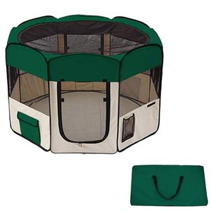Portable Dog Pen Doghouse Playpen Kennel House with Carrying Case Pet for Sale in Chicago, IL