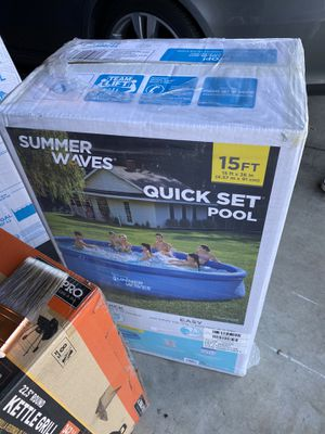 Summer Waves 15Ft pool for Sale in Stockton, CA
