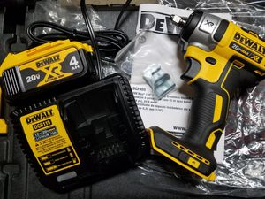 "💡🛠New Dewalt 20v XR Brushless 3/8"" Impact Wrench, 4ah XR battery & charger🛠💡 for Sale in Orange, CA"