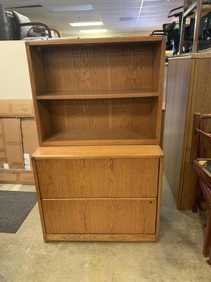 Lateral file cabinet with shelf for Sale for sale  Alpharetta, GA