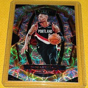 Portland Trail Blazers Damian Lillard Card for Sale in Joliet, IL