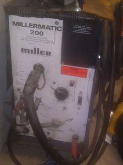 Miller220 welder with all accessories plus tank quik sale for Sale in West Valley City,  UT