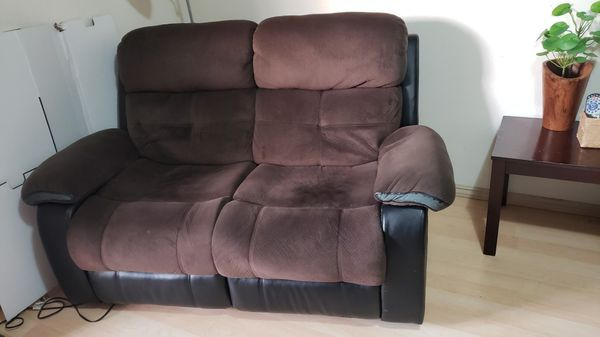 Set de sofas reclinables