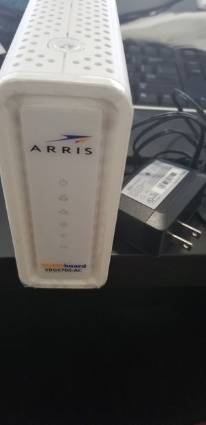 Arris SURFboard SBG6700-AC cable modem / router for Sale in Allen, TX