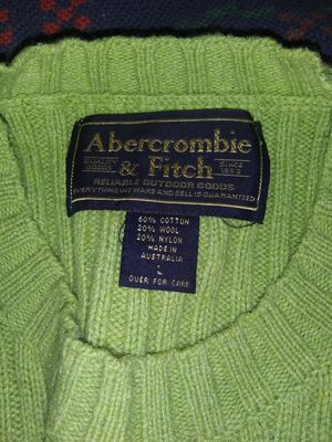 Abercrombie & fitch mens large sweaters brand new for Sale in Paducah, KY