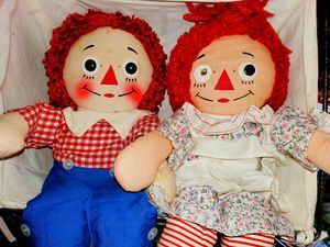"""the Original Raggedy Ann"" Doll By Knickerboker 