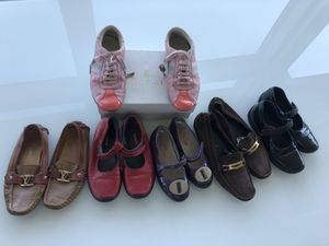 Prada,Gucci,LV shoes for girl,$199 obo for all for Sale in Kent, WA