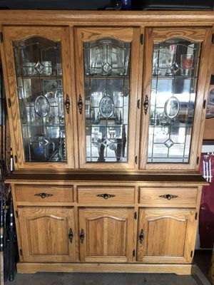 China cabinet/ bar shelves for Sale in Fresno, CA