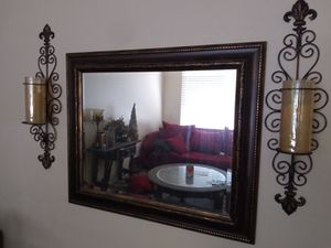 Mirror and decor for Sale in Kingsburg, CA