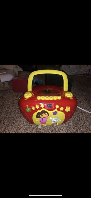 Dora cassette & CD player for Sale in San Antonio, TX