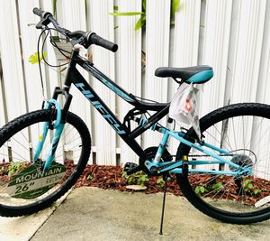 """Huffy 26"""" Trail Runner Women's Full Suspension Mountain Bike, Black for Sale in Miami, FL"""